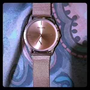 Souarts Rose Gold Watch